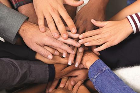 Diversity inclusion hands
