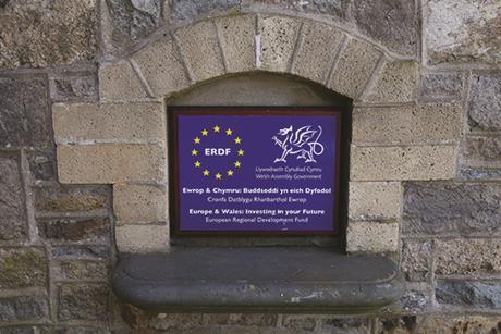 Wales ERDF money