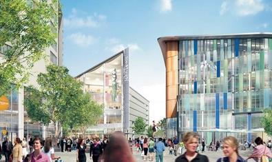 Central focus: the extended St David's will open in 2009