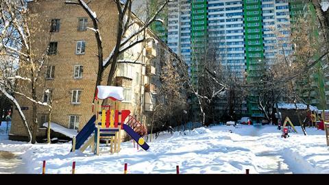 Khrushchevka, Moscow