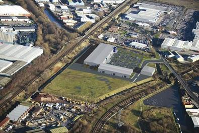 Northfields Retail and Business Park.