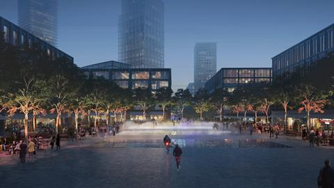 Canada Water Masterplan - Town Square - email