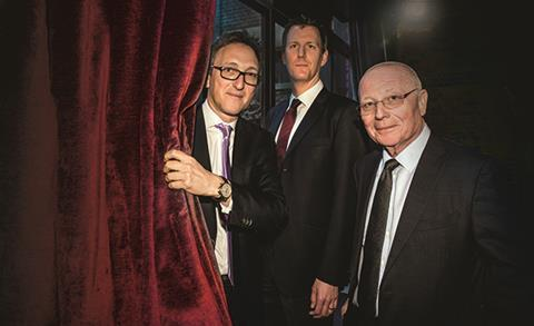 Left to right: Jonathan Goldstein, Robert Allan and Stephen Conway