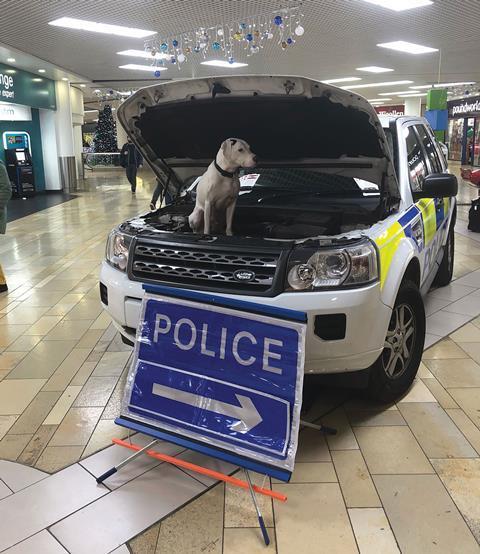 'Cop Shop', The Galleries, Bristol