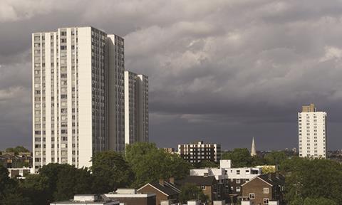 Council estates, London