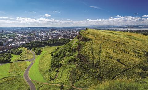 Edinburgh greenery
