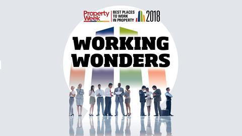 Best Places to Work in Property
