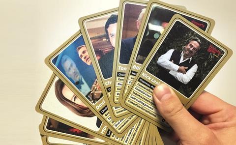 Power 100 card shuffle