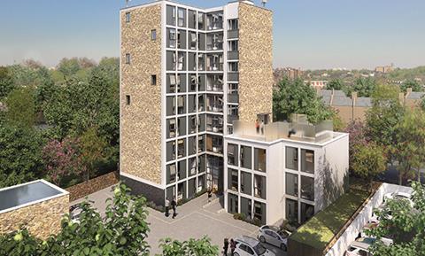 Queens House scheme, Twickenham