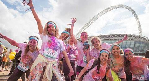 Colour Run Wembley