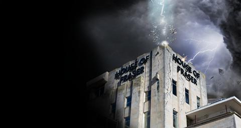 House of Fraser lightning