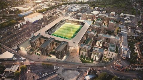 Afc wimbledon new stadium