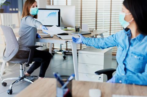 Coronavirus office