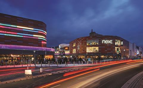 Friars Walk shopping centre, Newport, Wales