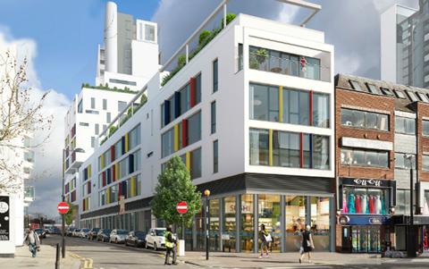 Telford Homes' City North development in Finsbury Park, London