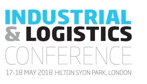 Industrial logistics logo