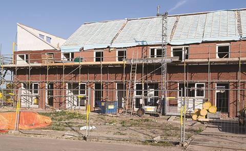 Housebuilding construction