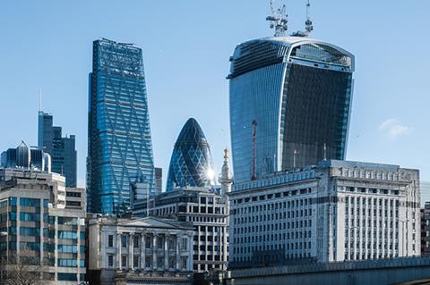Cheesegrater, Gherkin and Walkie Talkie