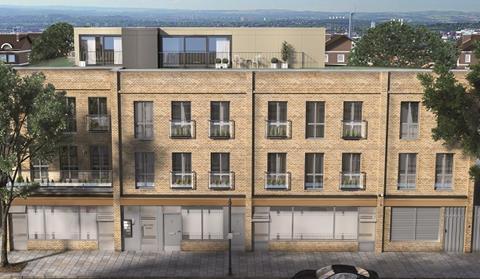 Innerspace rooftop development in camden