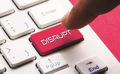 Disrupt button