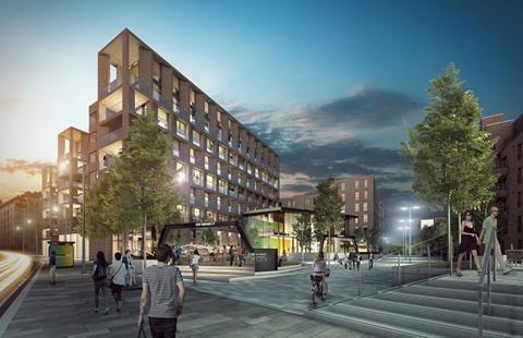 Springside development by moda living at fountainbridge edinburgh
