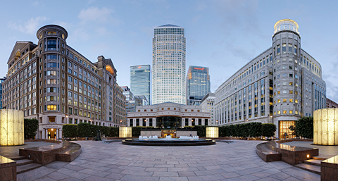 Canary Wharf finance