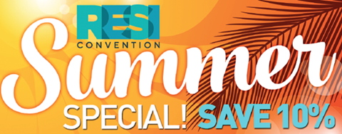 RESI Convention summer sale