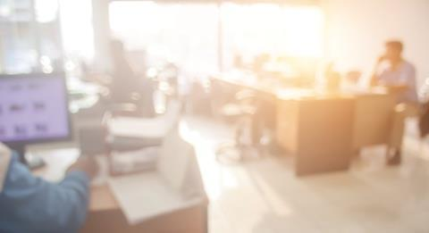 Office blur credit phokin Shutterstock