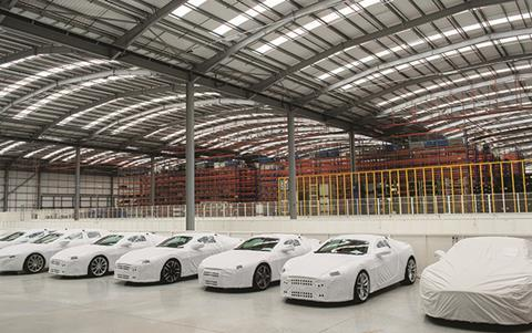 Aston Martin warehouse, Wellesbourne