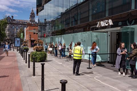 Dublin King St Zara
