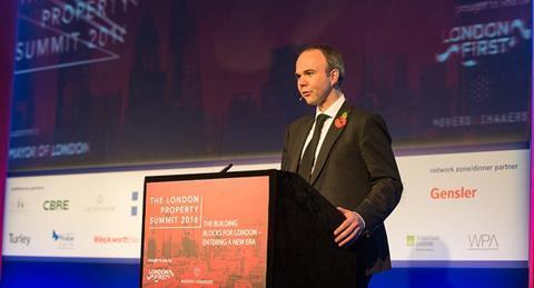 Housing minister Gavin Barwell