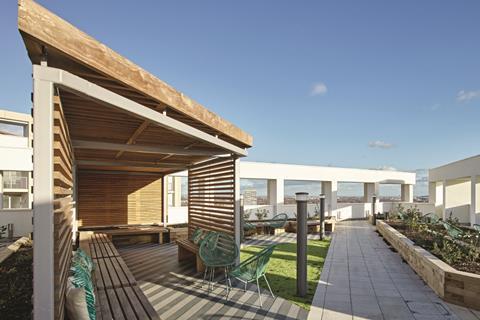 Roof terrace, Argo