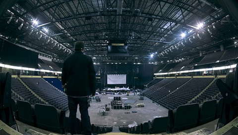 Inside of the Manchester Arena