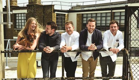 Polly Robertson, James Townsend, Jack Fryer, Luke Appleby and Sam Dawson