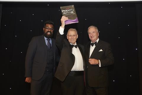 Hall of Fame inductee Tony Pidgley CBE