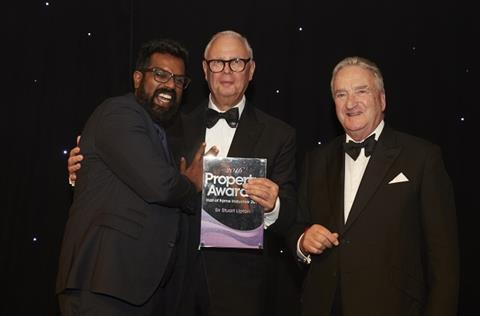 Hall of Fame inductee Sir Stuart Lipton
