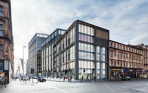 Atlantic Square development, Glasgow