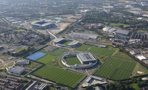 Manchester city etihad campus