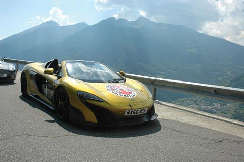 Mipim rally supercar
