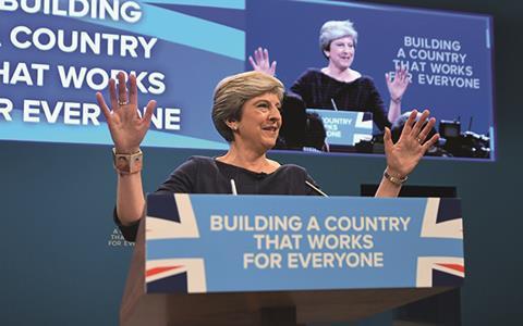 Theresa May, Tory Conference 2017