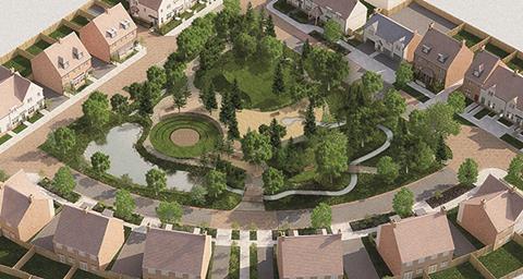 Dunton Hills Garden Village
