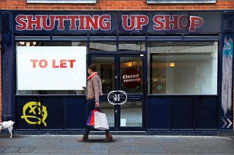 Retail outlook: shutting up shop