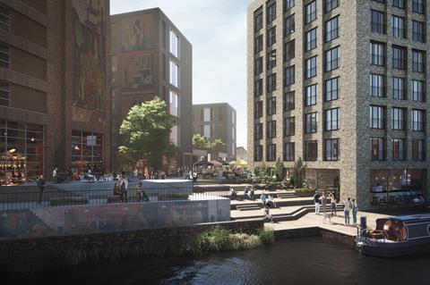 HUB_Bordesley Junction_Canalside (shedkm architects + Uniform)