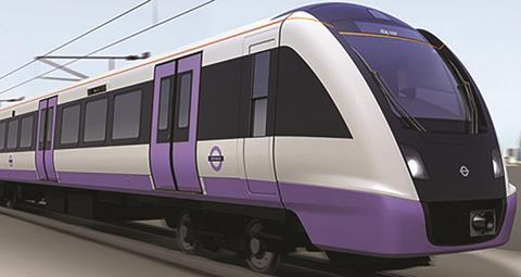 Crossrail (Elizabeth line) train