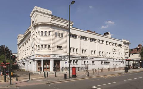 Hippodrome theatre, Golders Green, London