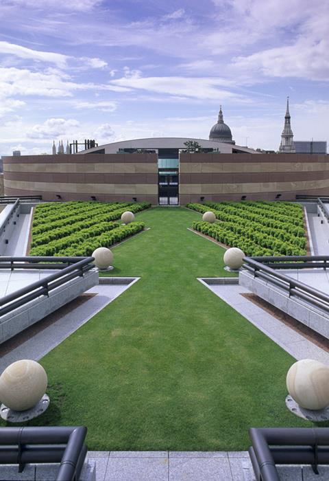 New leaf: green roofs are springing up in the City of London