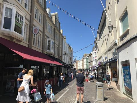 St Helier high st