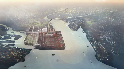 Thames Hub Airport Foster & Partners