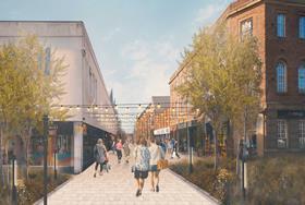 Bruntwood Works JV submits Stretford town centre plan
