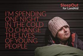 LandAid raises £360,000 from first SleepOut event